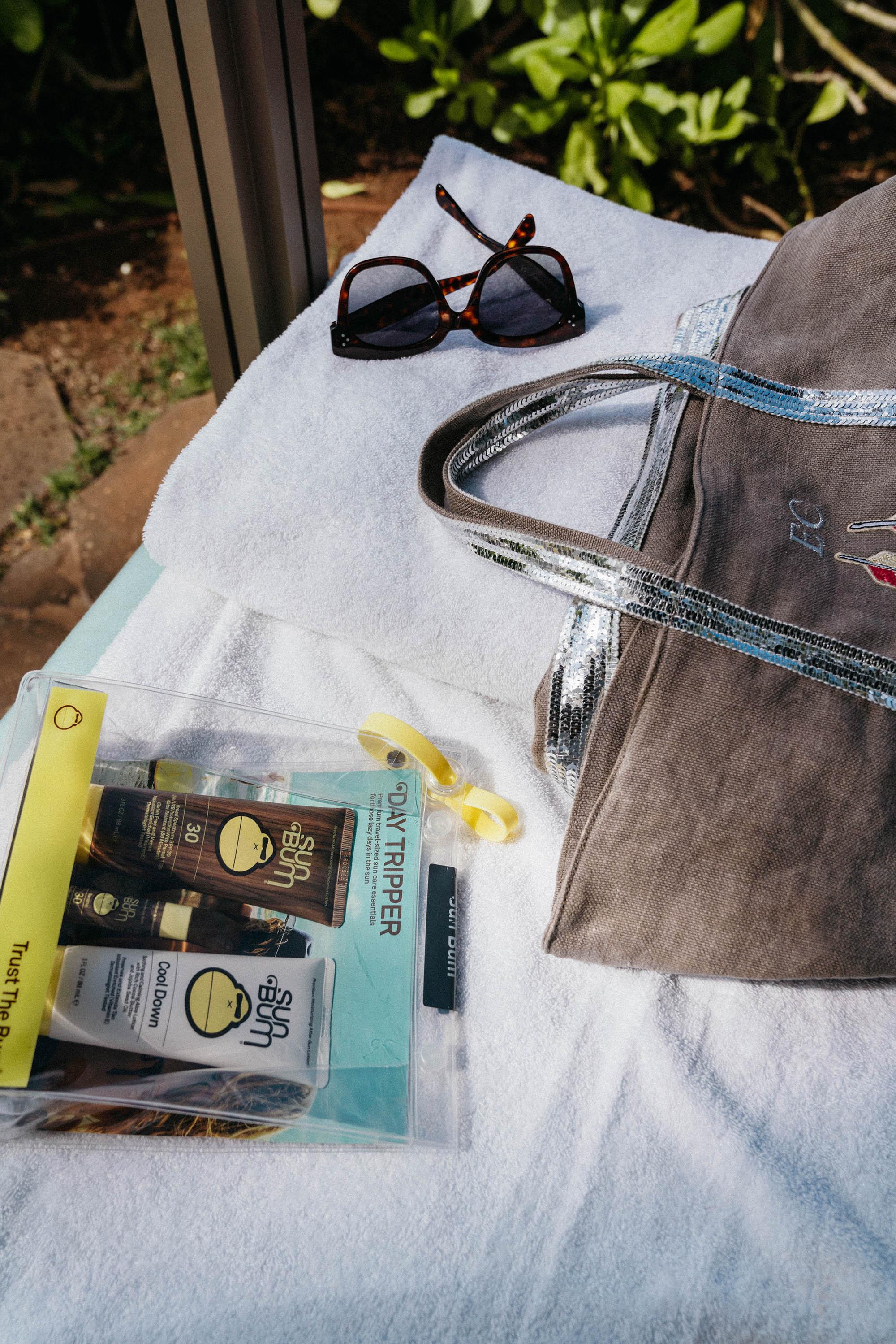 Sun Bum Sun Care ,  Celine Sunglasses , Vanessa Bruno Bag