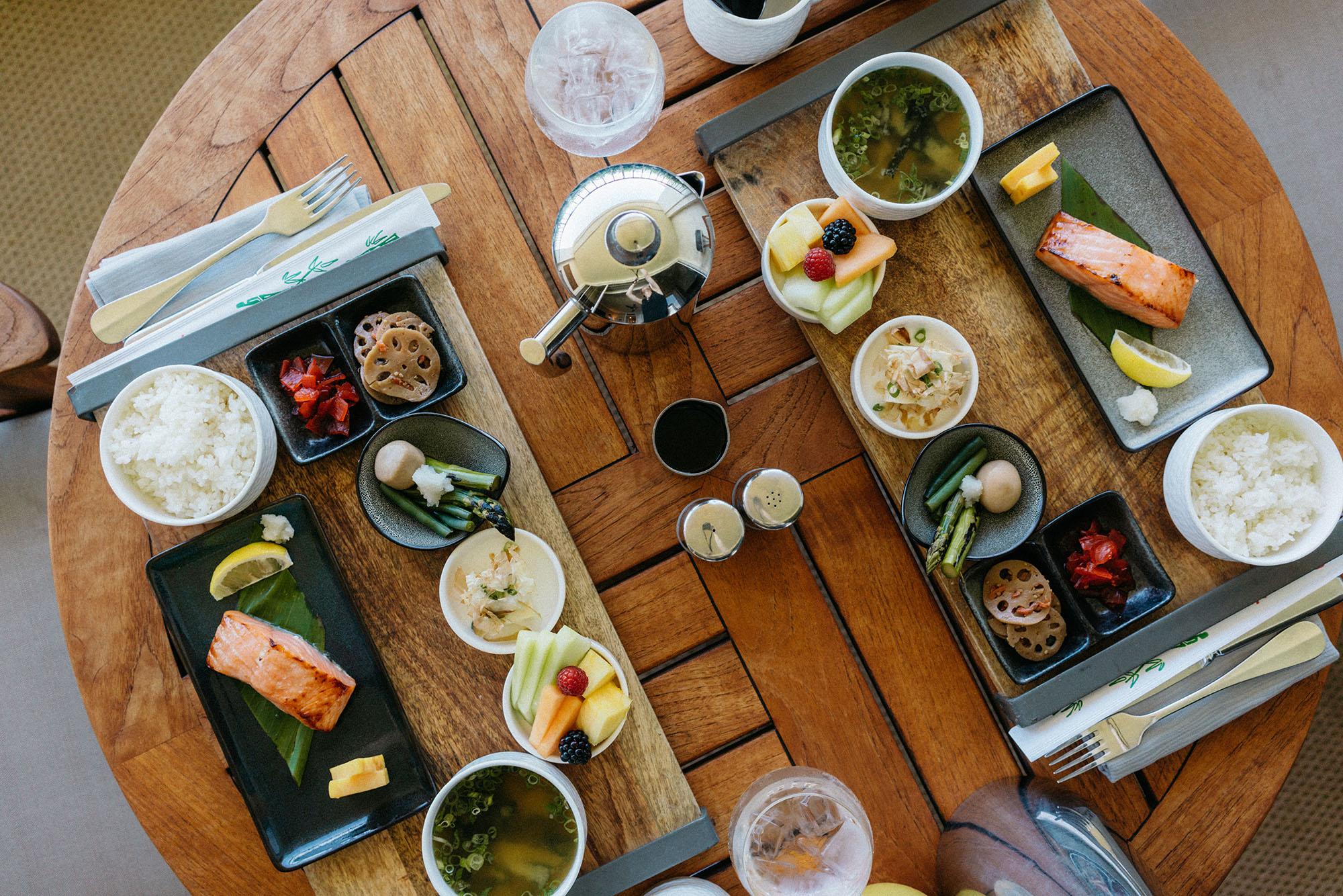 'Japanese breakfast' for room service