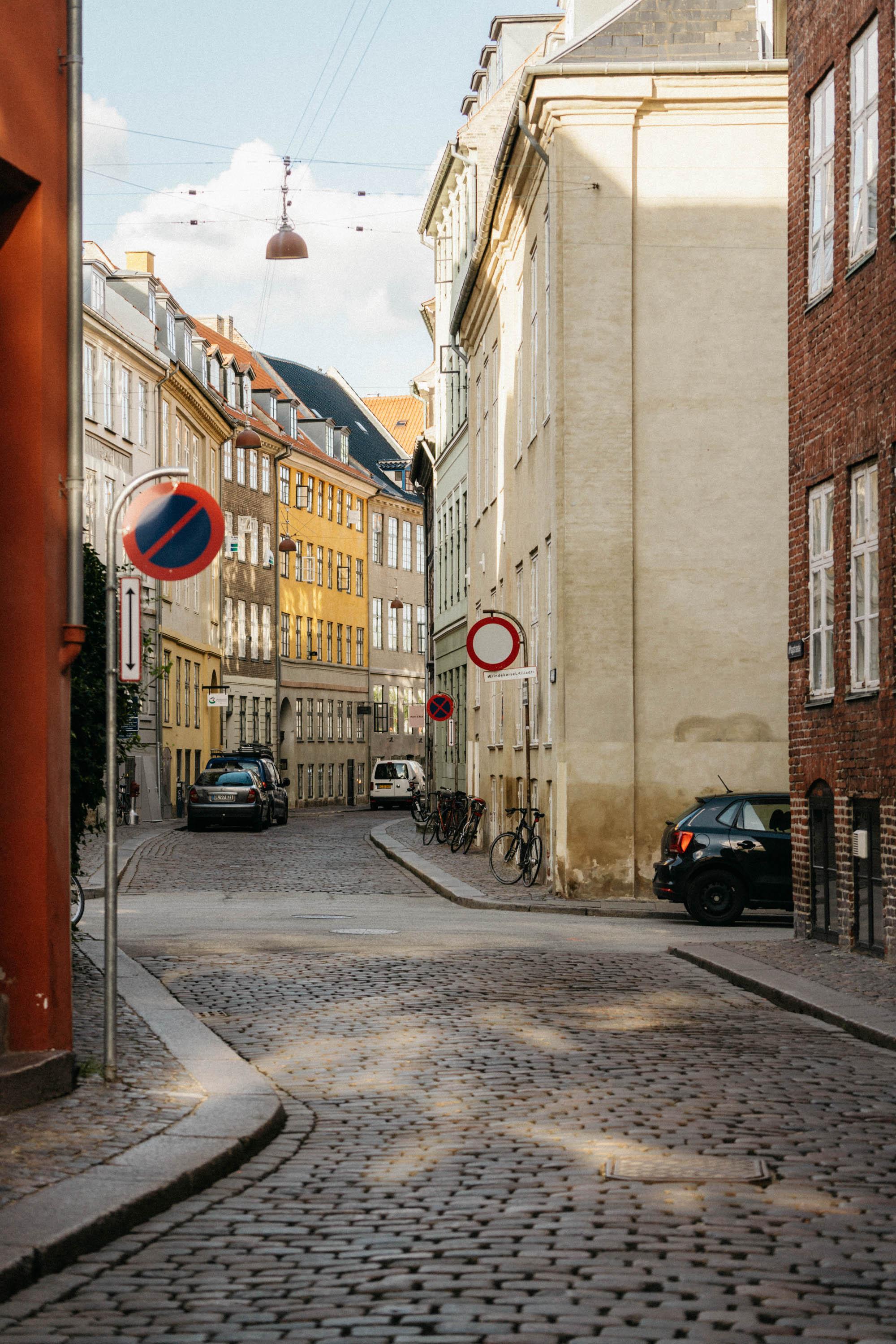 Magstræde and Strøget, the oldest streets in Copenhagen