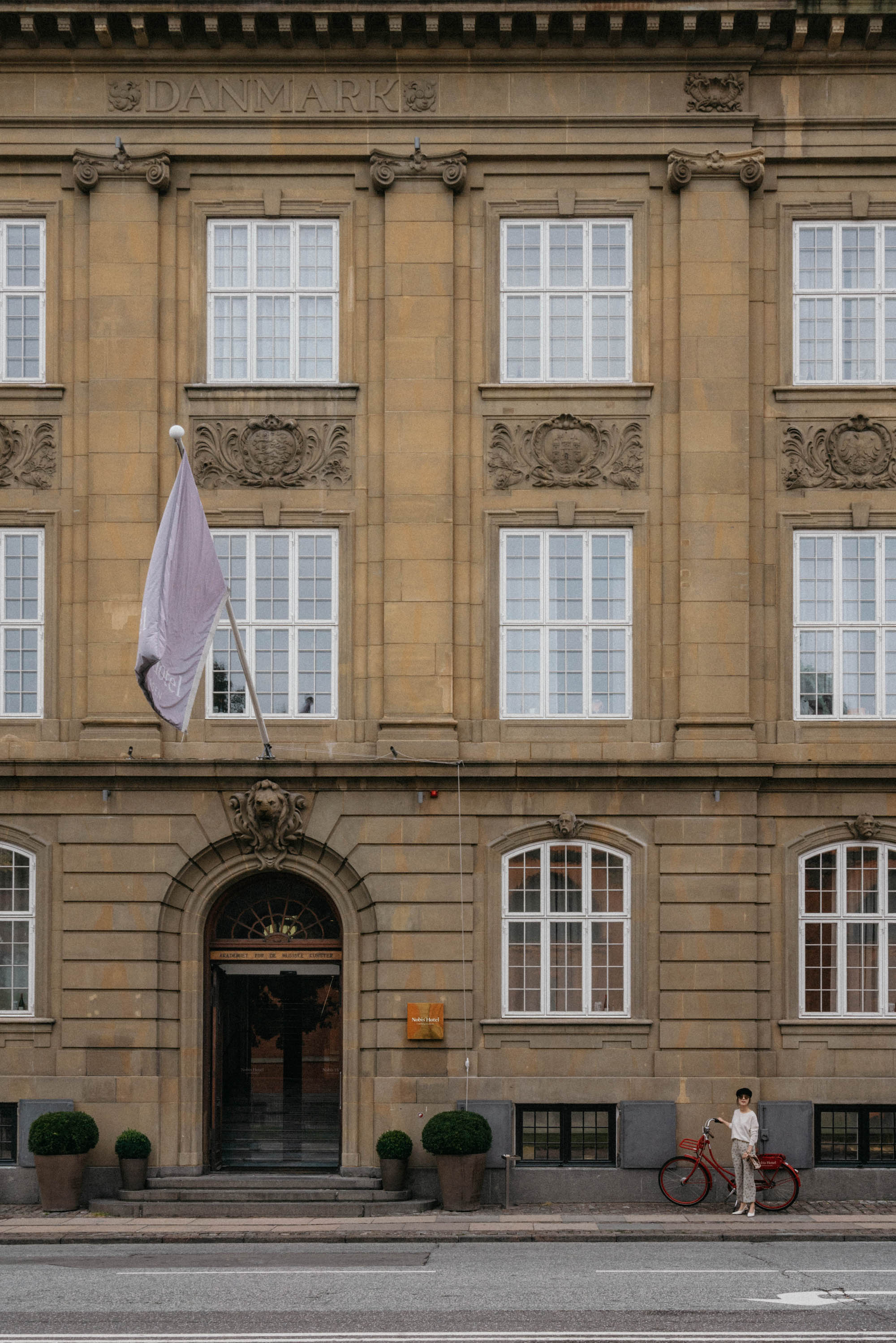 Nobis Hotel Copenhagen  is in the former building of the Conservatory of Music 🎶