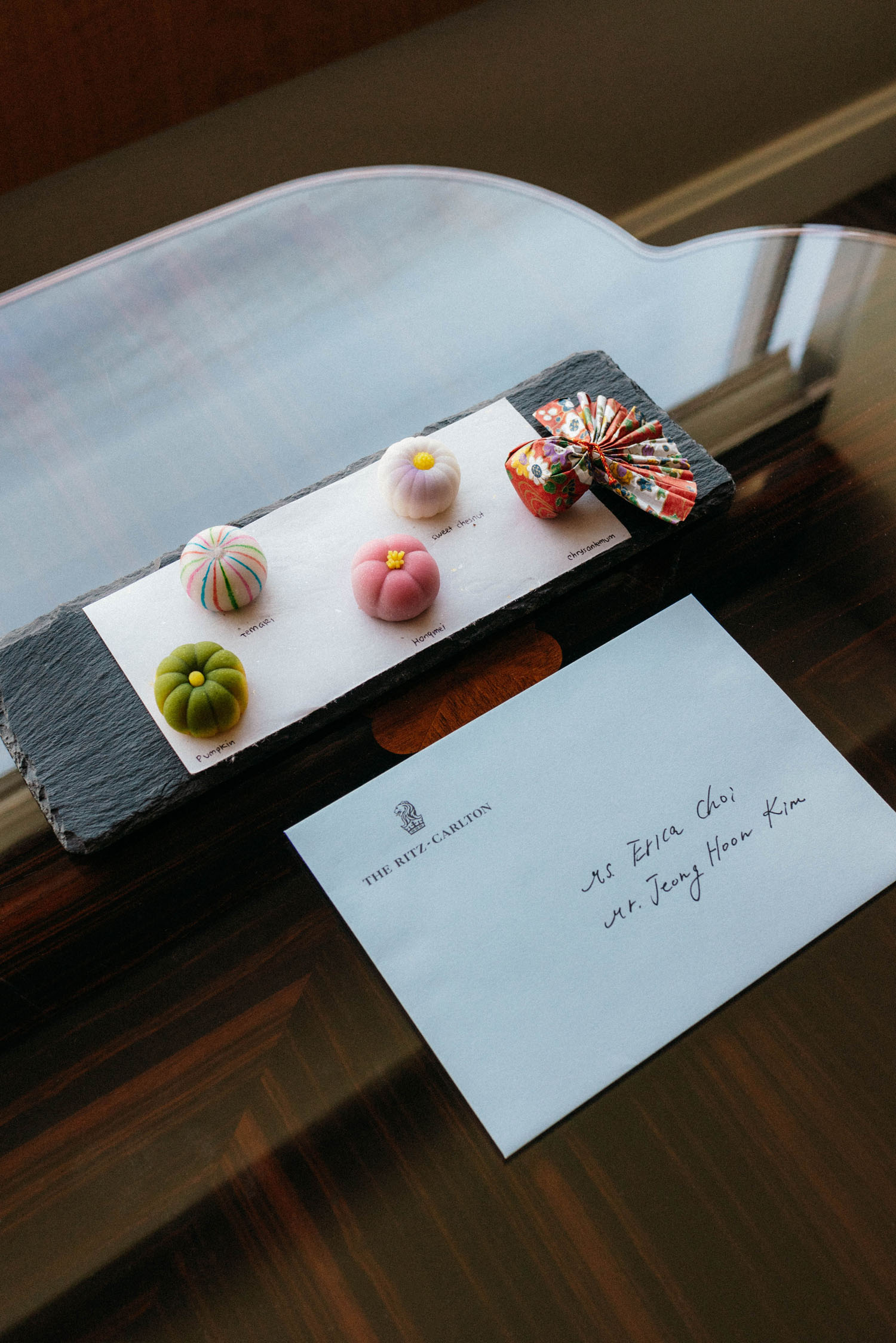 A warm welcome from  The Ritz Carlton, Tokyo