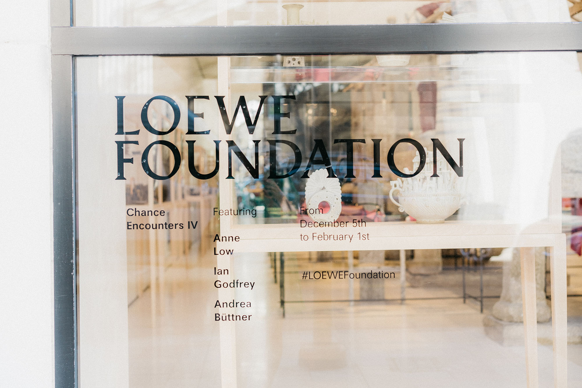 Loewe presents Chance Encounters IV
