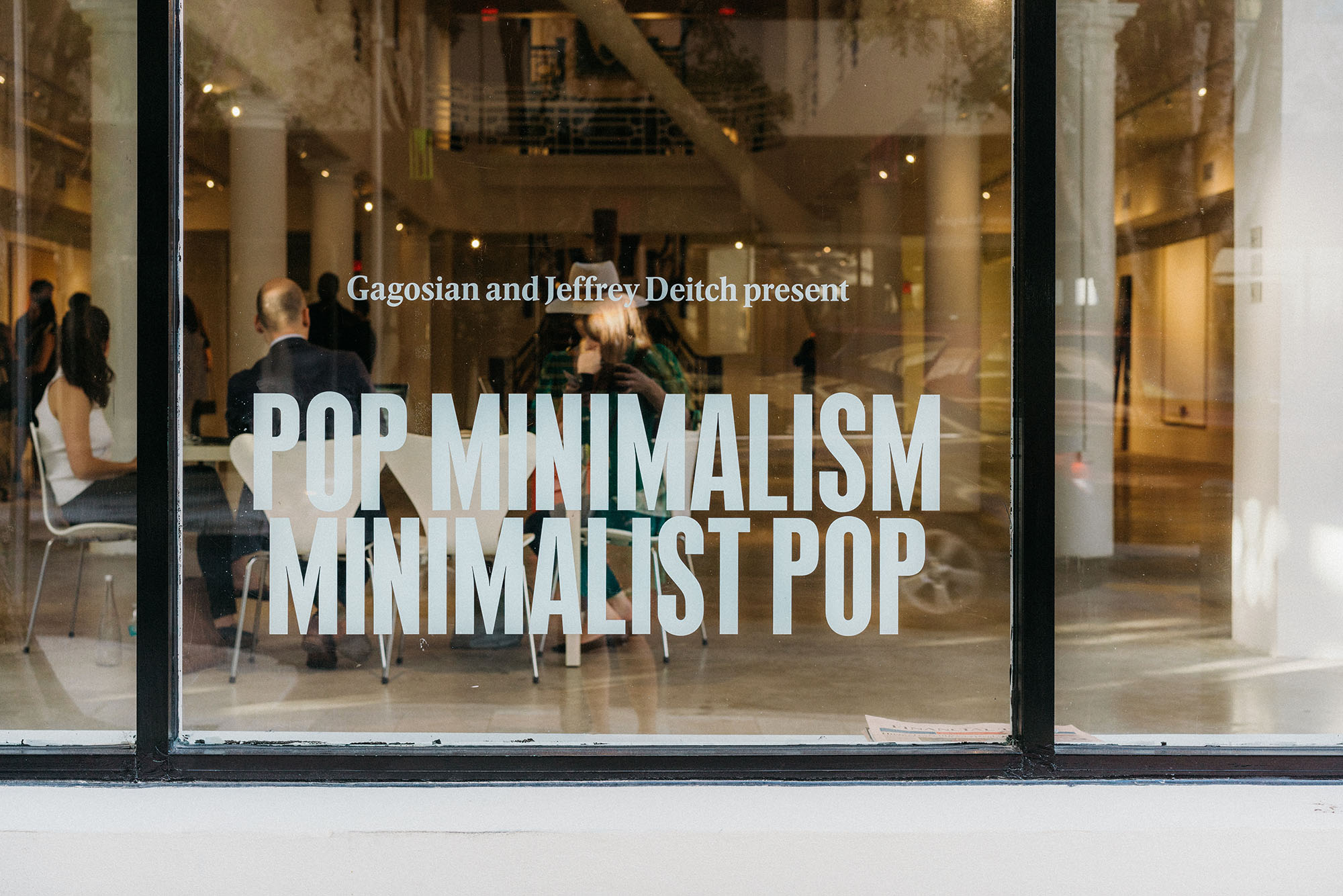 Pop Minimalism: Minimalist Pop presented by Gagosian and Jeffrey Deitch  at the Moore Building