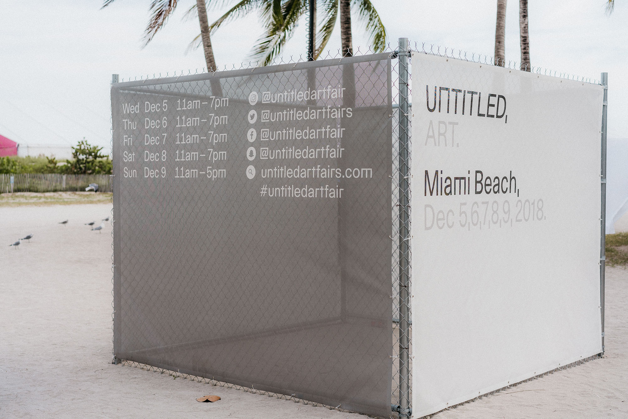 Untitled Art, Miami Beach