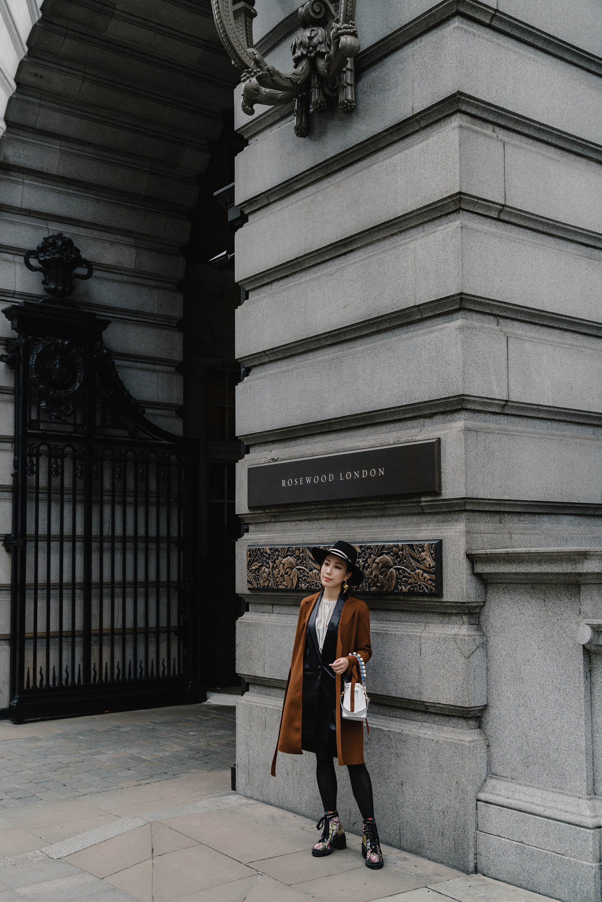 Erica in London for NARS x Erdem