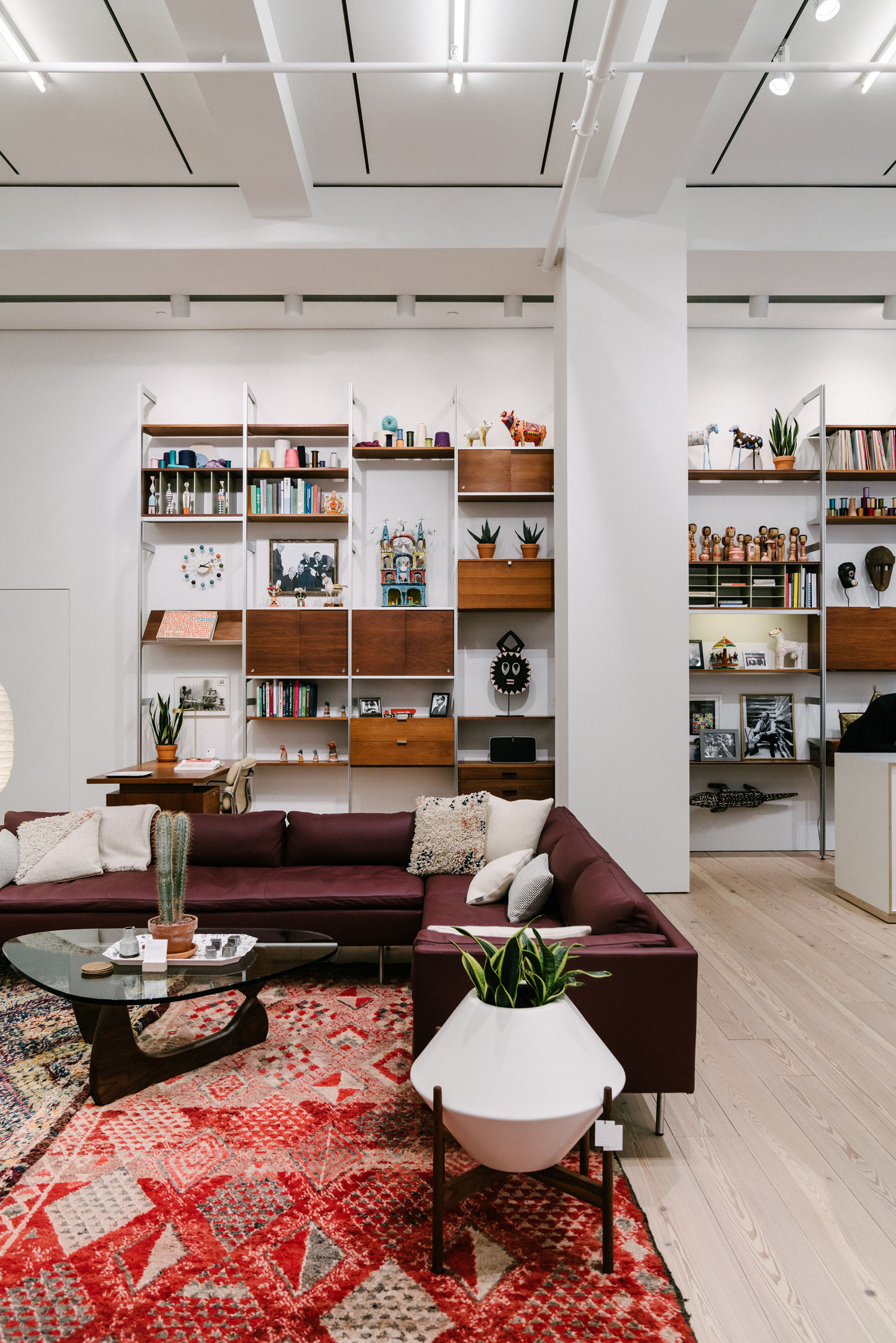 shop 'till you drop - Treat yourself to some retail therapy.Shown here:Herman Miller
