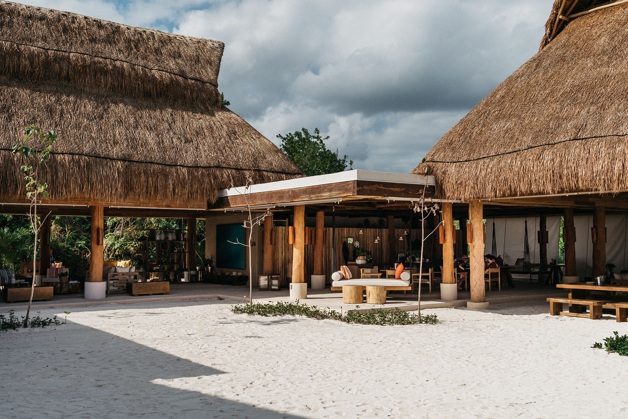 """Aqui Me Quedo  is an adult-only oceanside retreat within Rosewood Mayakoba meaning """"Here I Stay."""""""
