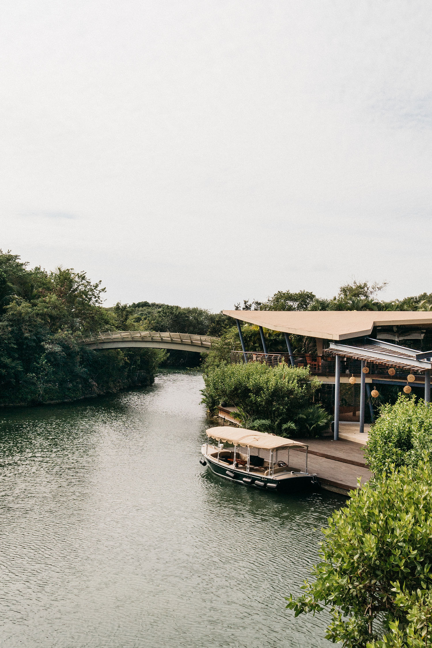 Circle line ferries are available every half hour to bring you to any of the other resorts in the Mayakoba complex – Fairmont, Andaz, and Banyan Tree. Each resort was designed to enhance the natural environment for visitors to truly appreciate the beauty of the Riviera Maya.