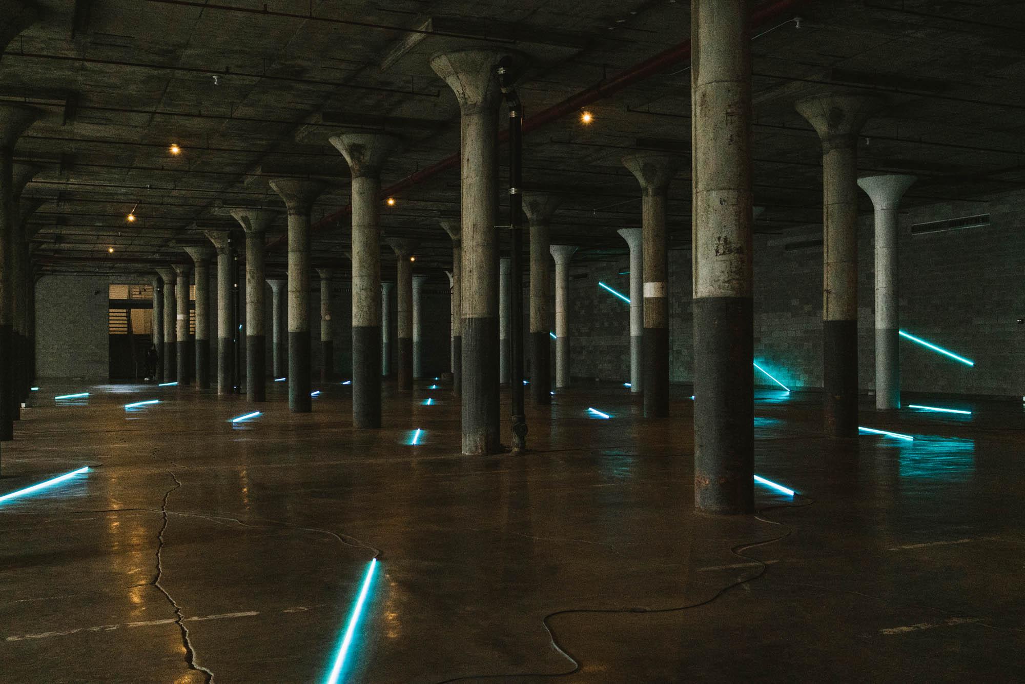 François Morellet: No End Neon