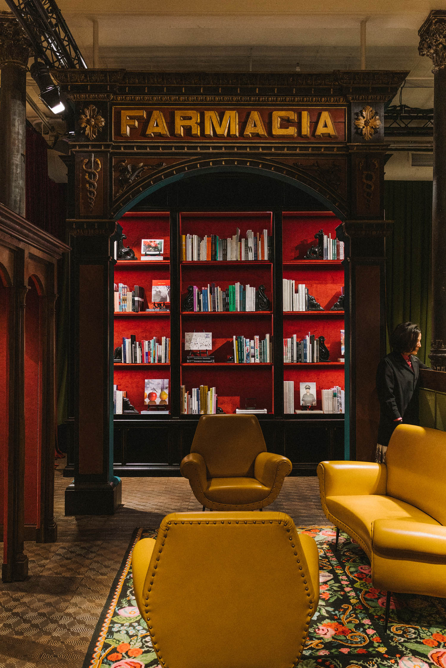 Gucci Wooster Bookstore, Curated by Dashwood Books