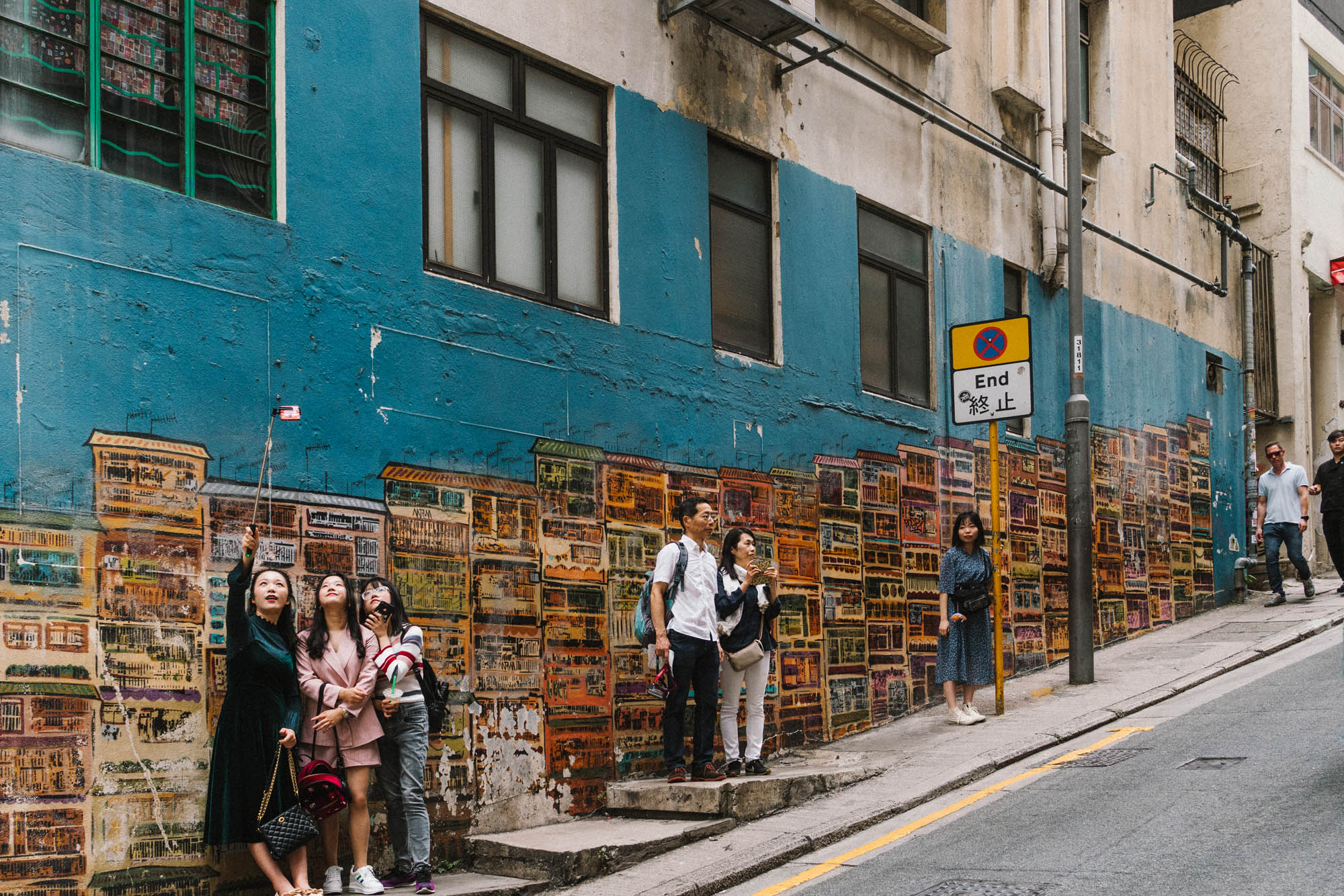 "The most ""Instagrammable"" wall in Hong Kong"