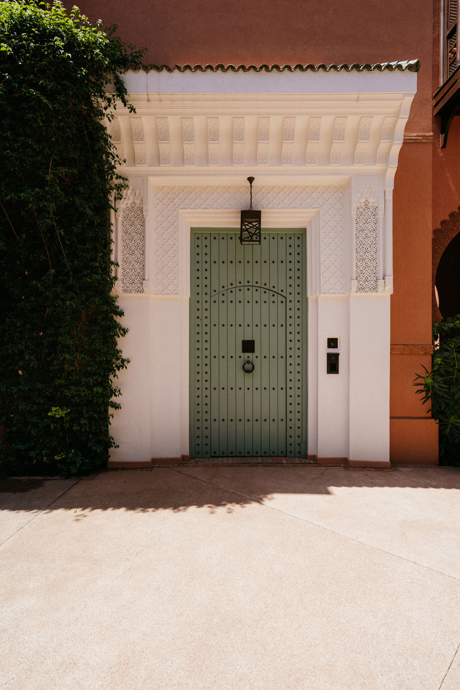 Door to our riad!