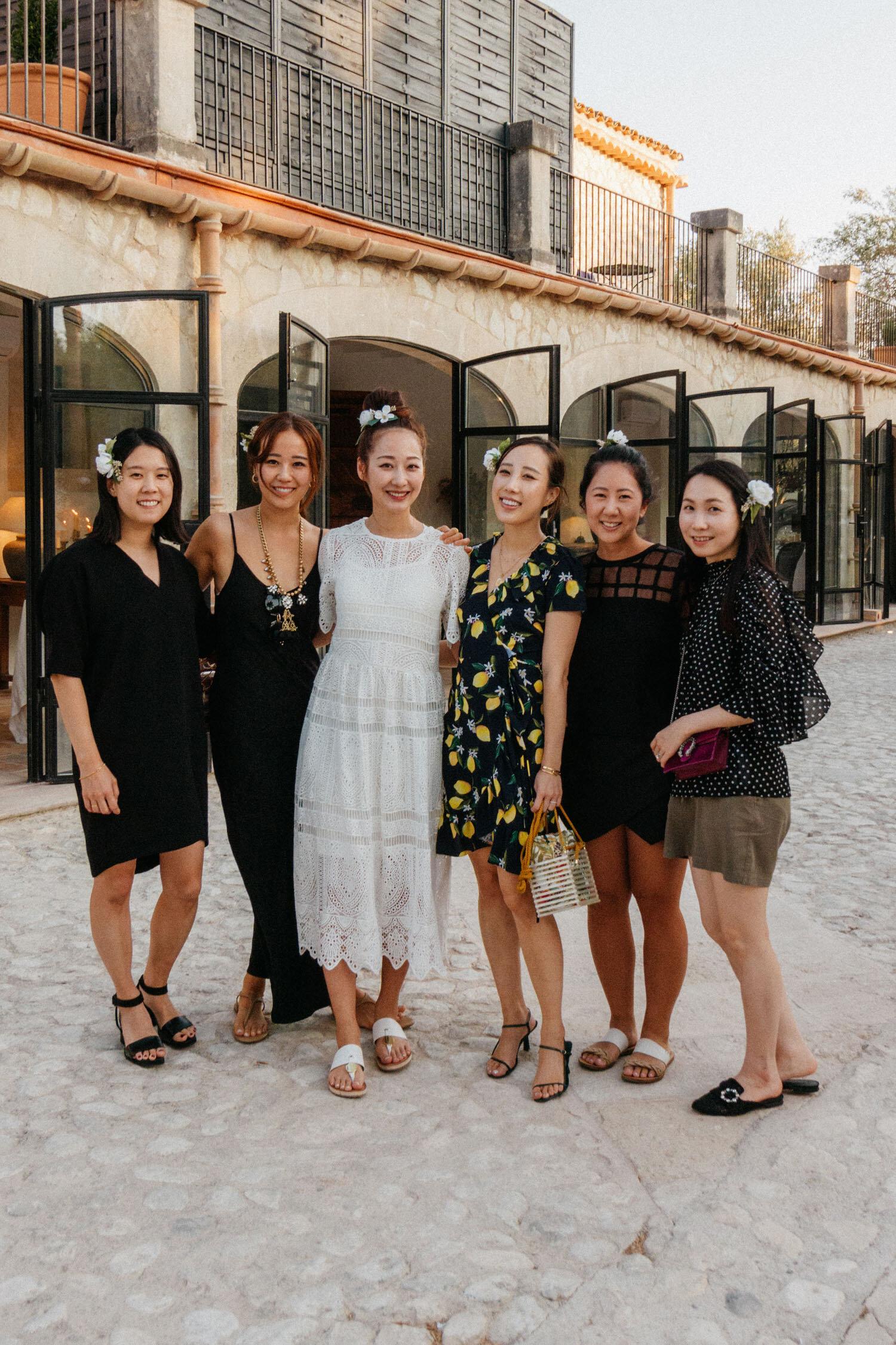 Jenny ,  Michelle ,  Yujin ,  Fran ,  Julie