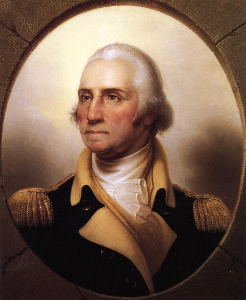 George Washington. Patriot. President. Distiller of fine, fine hooch!