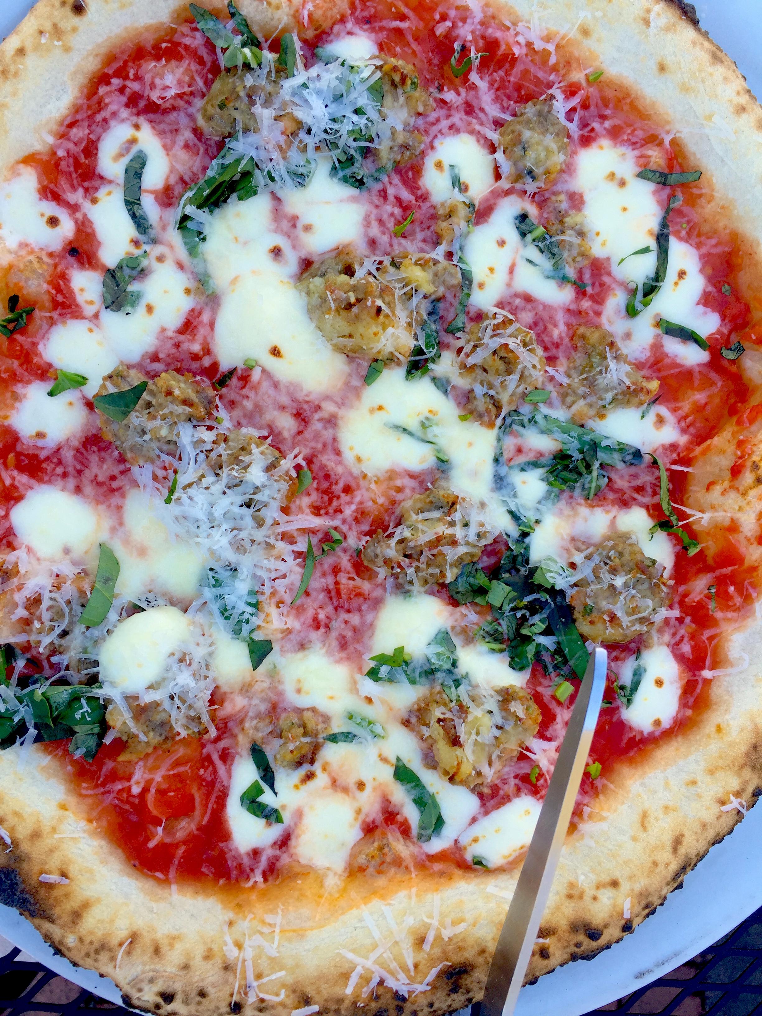 Lampo Pizza, Cville Foodie Tour.JPG