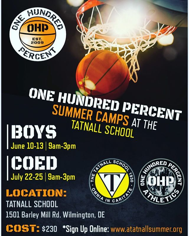 OHP CAMPS AT TATNALL . #ohp🏀family #successisearned
