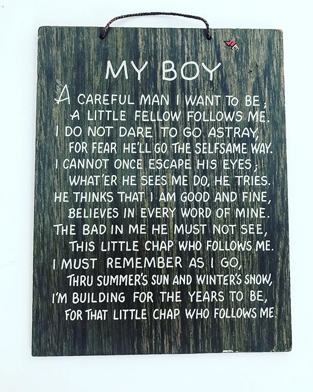 This hung on my bedroom wall during my childhood. Seems appropriate that we found this on Father's Day .  Happy Father's Day John E Noonan Jr . I love you Pops 🙏🏻.