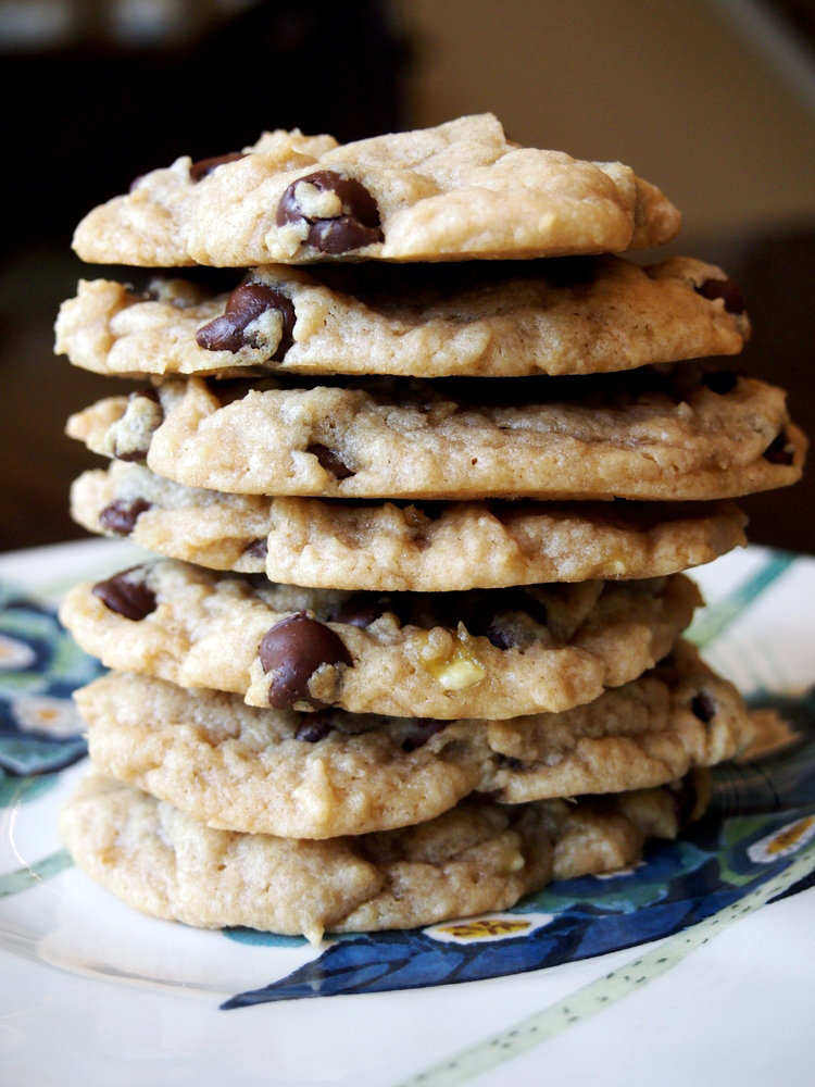 peanut-butter-banana-chocolate-chip-cookies