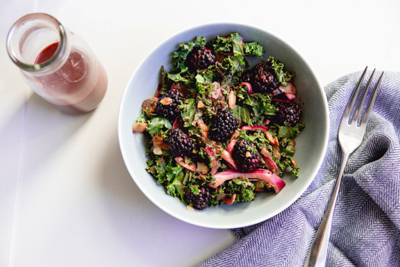 blackberry-kale-salad