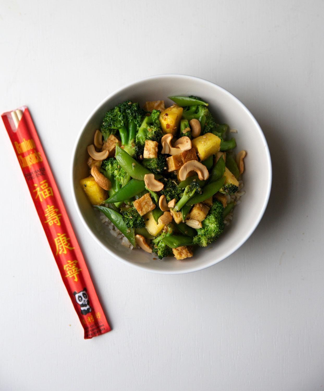 pineapple-broccoli-snap-pea-stir-fry-tofu