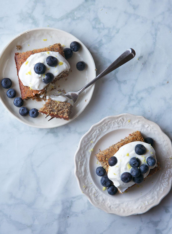 Lemon Poppyseed Afternoon Snack Cake