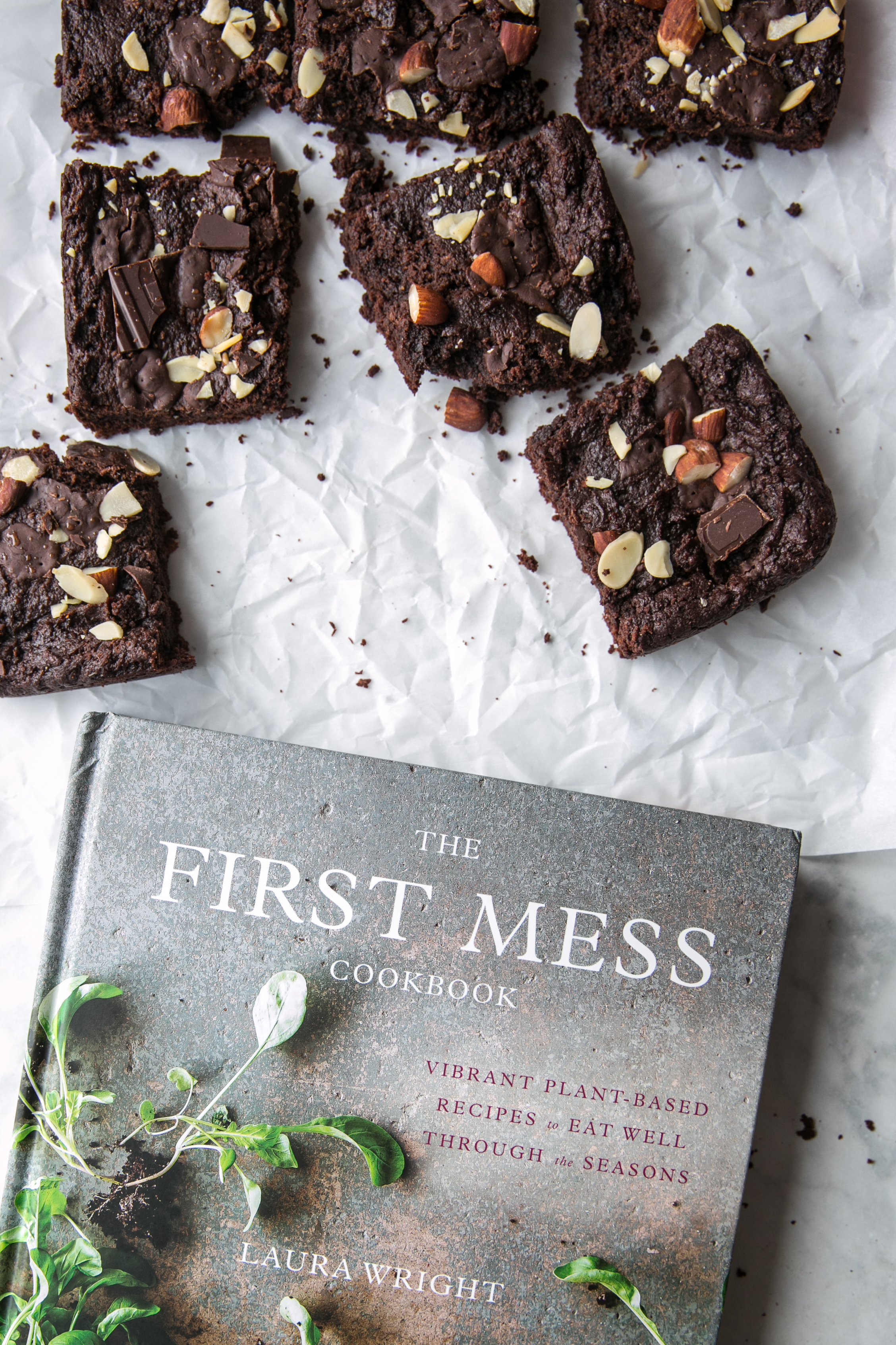 Fudgy Nut and Seed Butter Brownies