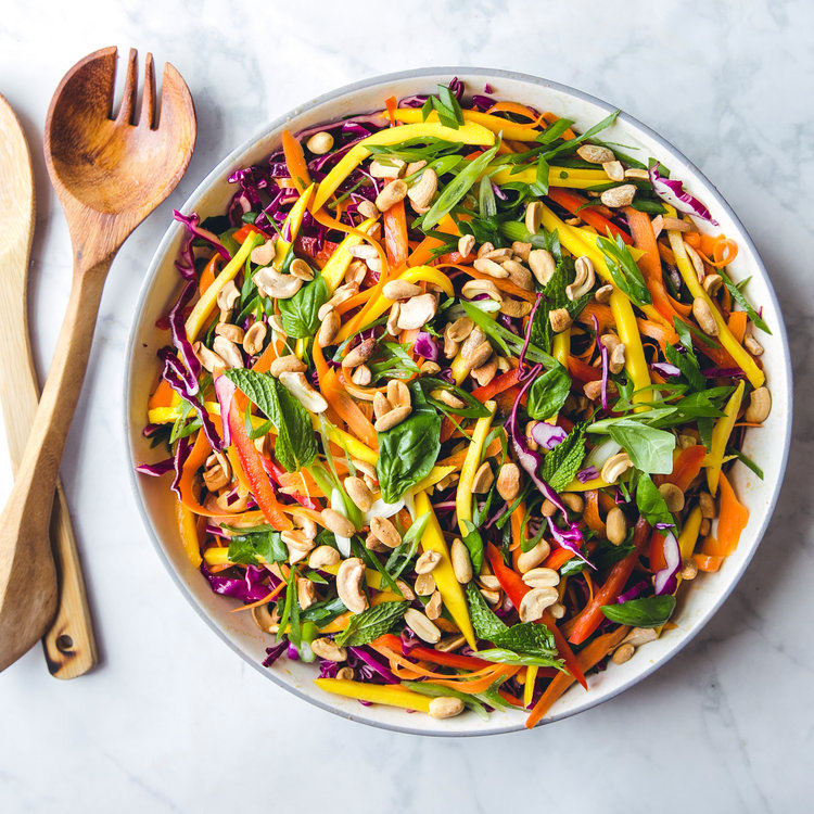 Thai-Inspired Cabbage Salad