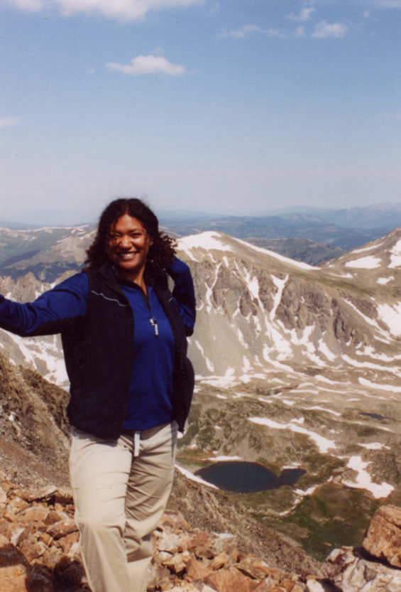 """Mt. Quandary, one of Colorado's famous """"14ers."""" (I hiked it before moving back to the Midwest.)"""