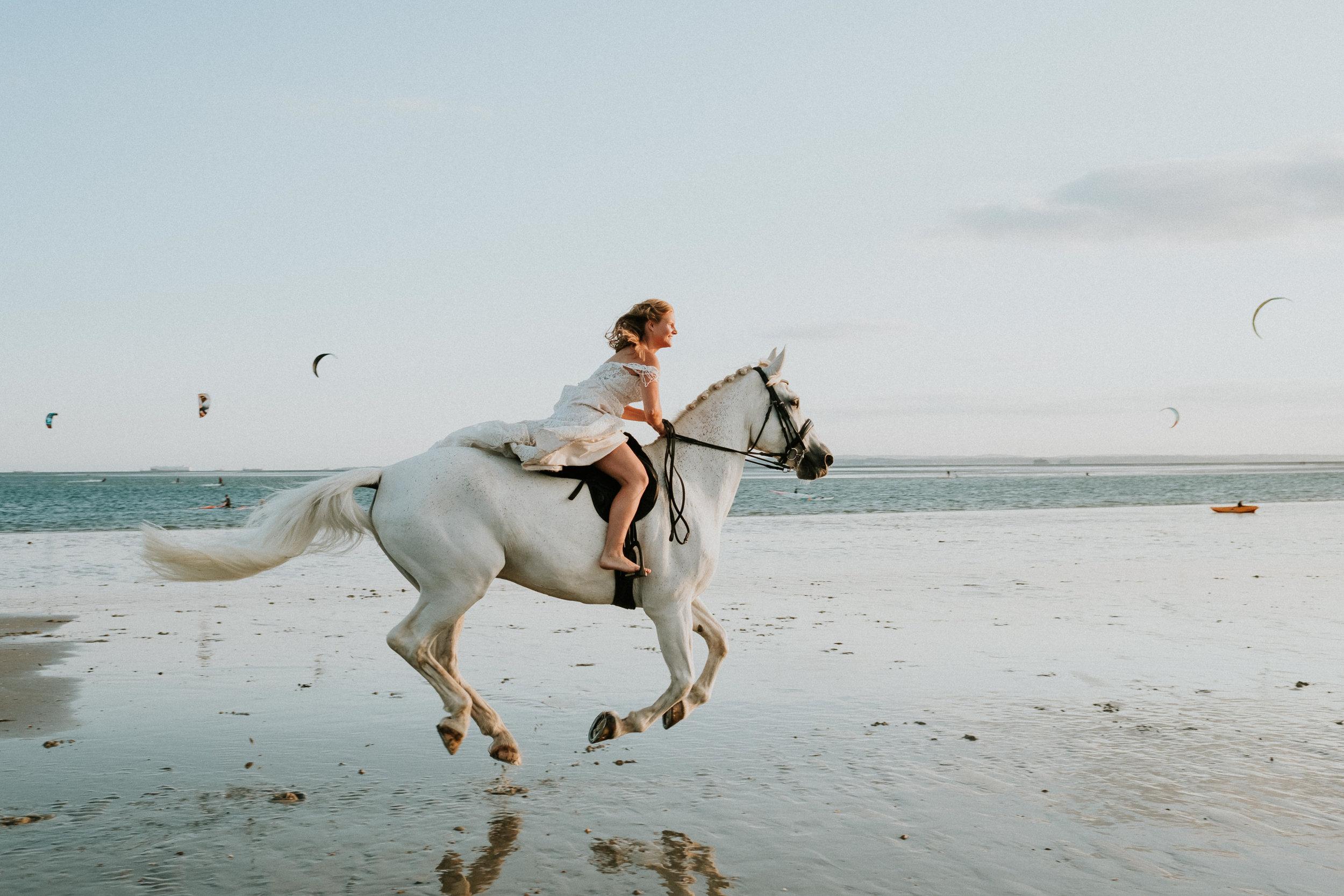 3 Trash the dress horse shoot hayling island joanna nicole Photography1.jpg