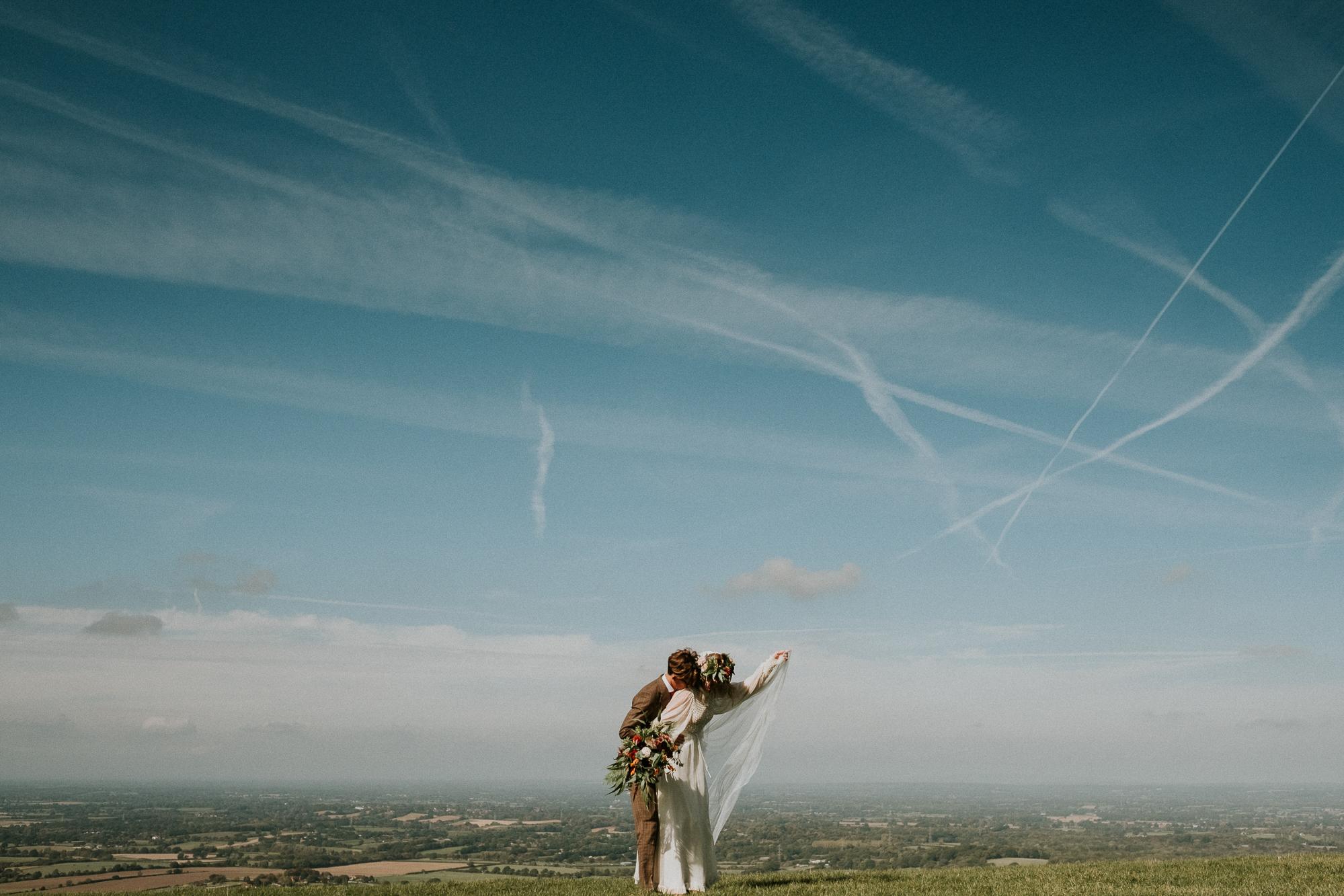 26 Cuckmere Haven Engagement shoot alternative wedding photographer Joanna Nicole Photography3.jpg