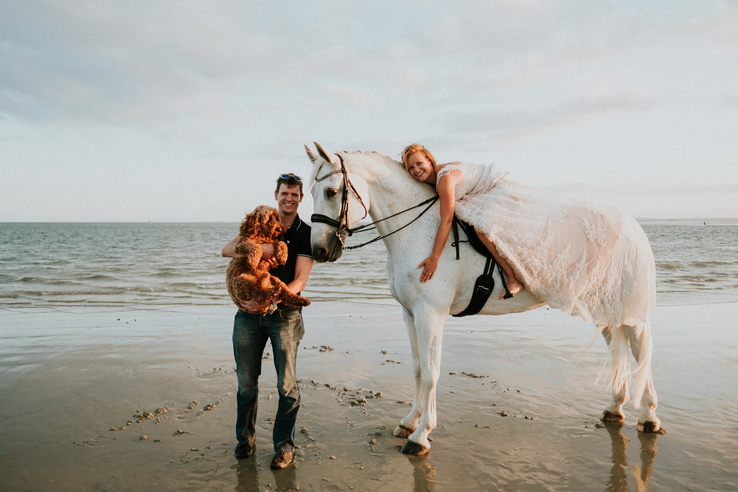 28 Trash the dress horse shoot hayling island joanna nicole Photography2.jpg