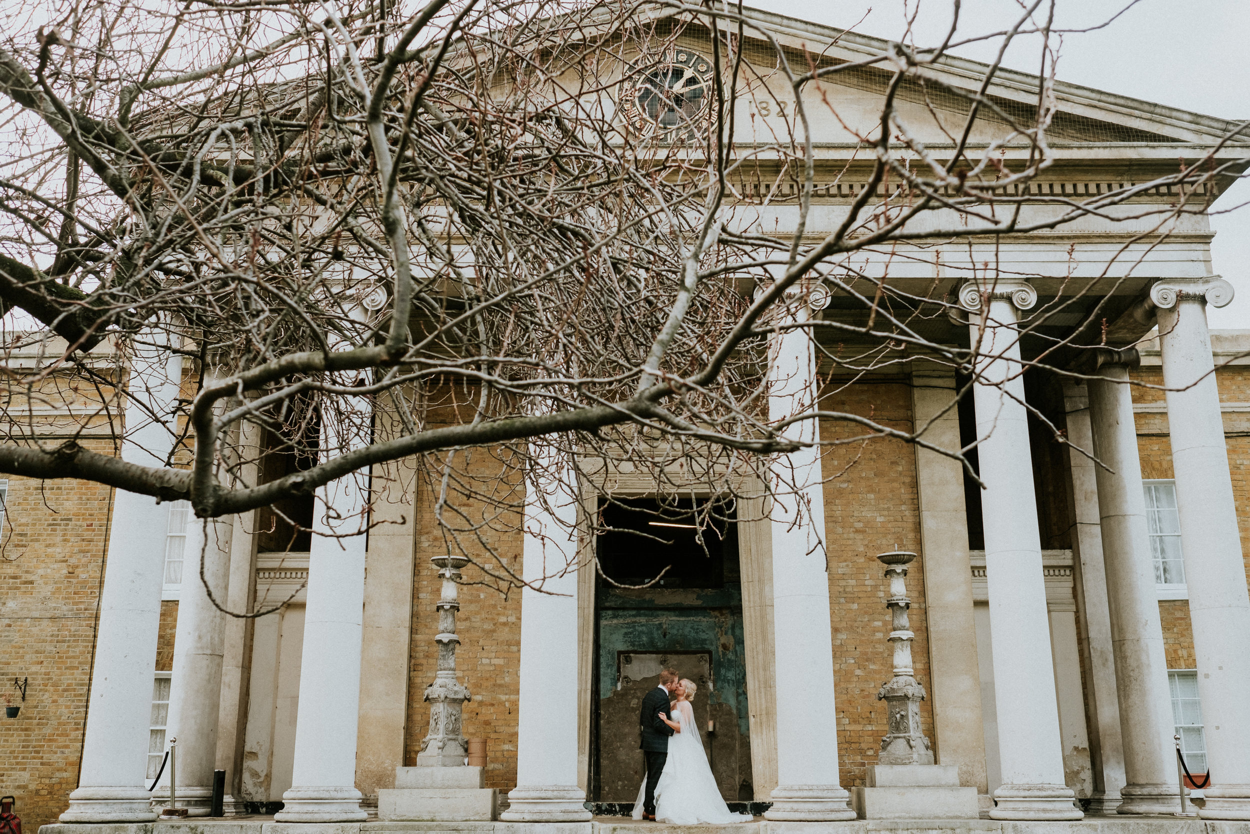 80 London Wedding Winter Christmas Asylum Chapel Photography St Barts Brewery Joanna nicole Photography2.jpg