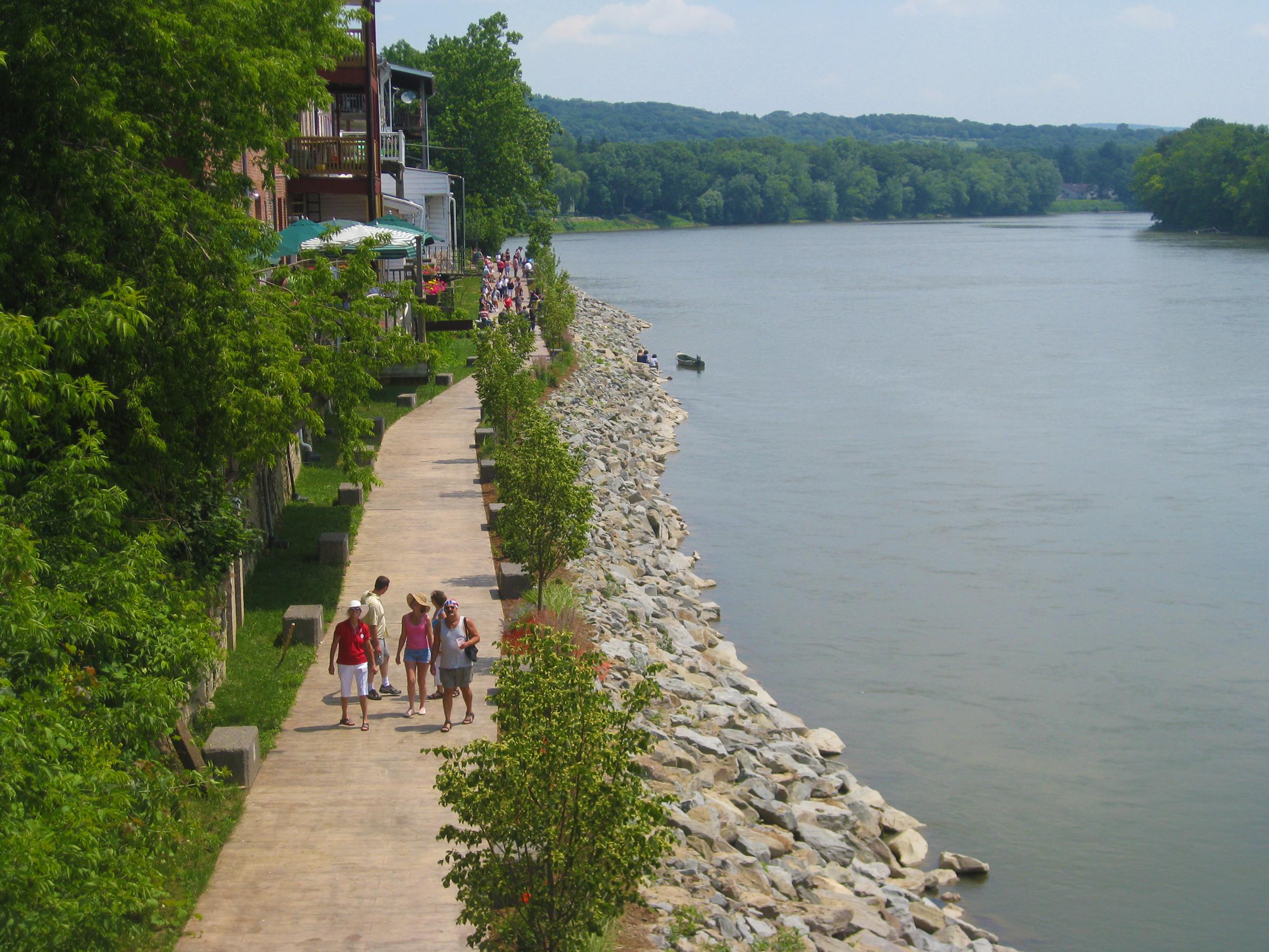 Owego River Walk