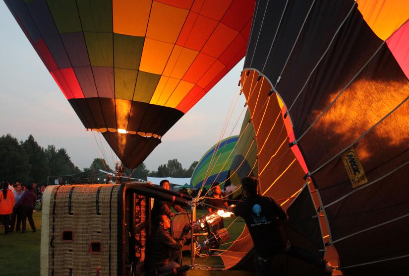 festival de globos aerostáticos de xochitla