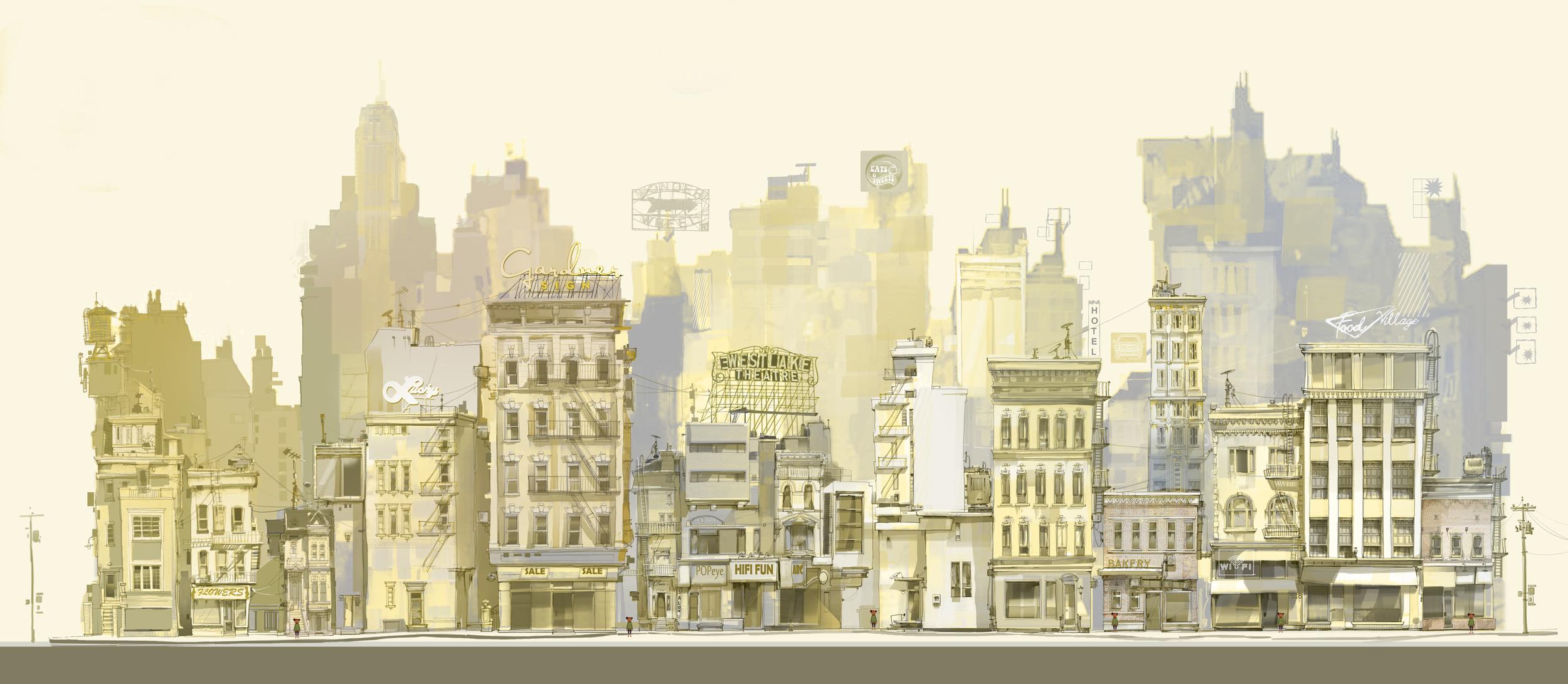 Concept Art from art director Emil Mitev