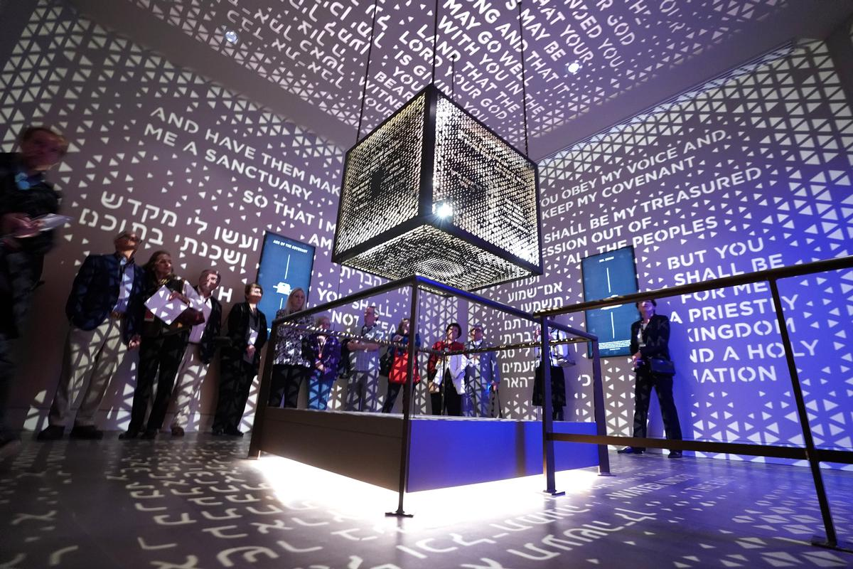 Experience design firm BRC have taken the concept of a theme park attraction and placed it inside a museum setting at the new Museum of the Bible in Washington, DC.A US$500m (€424m, £374.5m) project, the 430,000sq ft (40,000sq m) museum, which opened on 17 November, has been created inside a former refrigerated warehouse built in 1922.A group of high-profile design teams worked on the project, with US firm SmithGroup acting as lead architects and Clark Construction Group serving as the general contractor.BRC's role was to create a themed experience over the museum's Narrative Floor, with its aim to tell the story of the Bible through history and the first part of that mandate focusing on the Hebrew Bible or the Old Testament.
