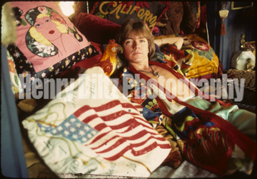 "Henry Diltz photo outtake from the sessions that produced David Cassidy's solo LP ""Home Is Where The Heart Is."""