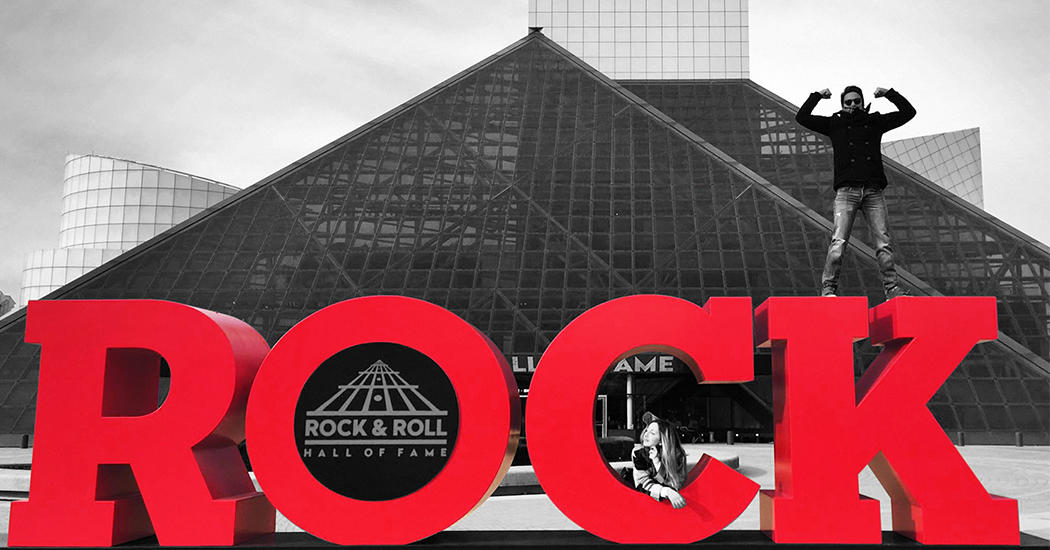 Come check out WHEN WE'RE SINGIN' and meet the author at the Rock & Roll Hall of Fame!