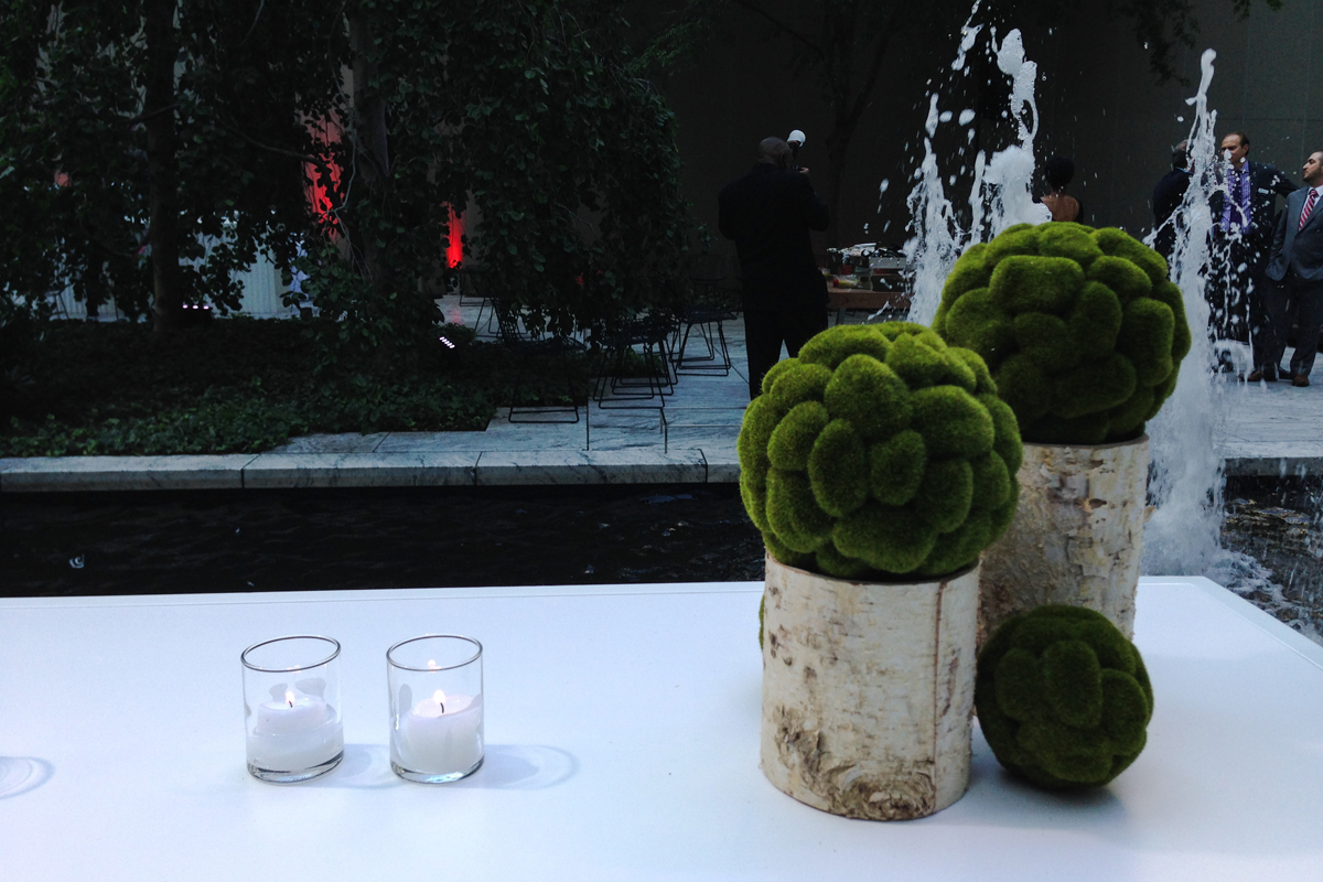 Private client with Pinch Food Design at  MoMA  Sculpture Garden