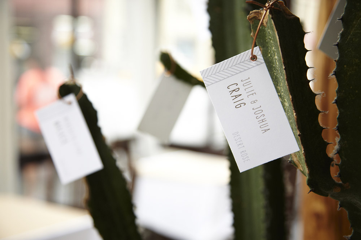 Project: Collaboration with Ang Weddings and Events   Paper:  Make Merry!   Photo:  Annabel Hannah