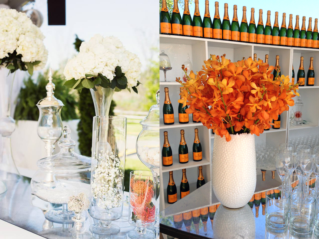Veuve Clicquot Polo Classic  VIP Tent at Liberty State Park  Left Photo:  Ann Street Studio