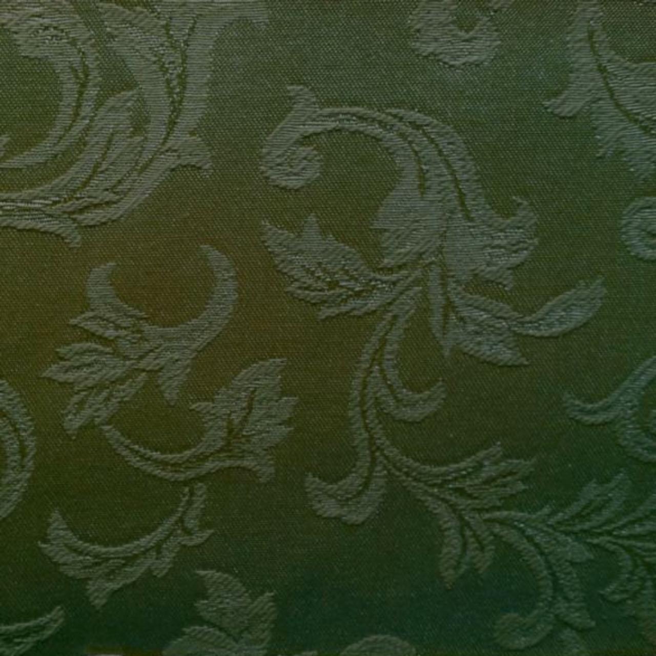 Olive Satin Scroll