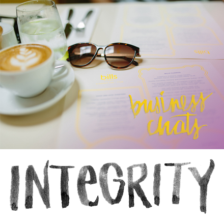 Business Chats: A New Series - Integrity