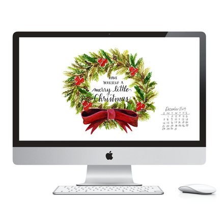 December Download - Desktop and Phone Wallpaper
