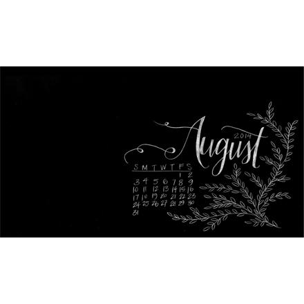 August Desktop Download