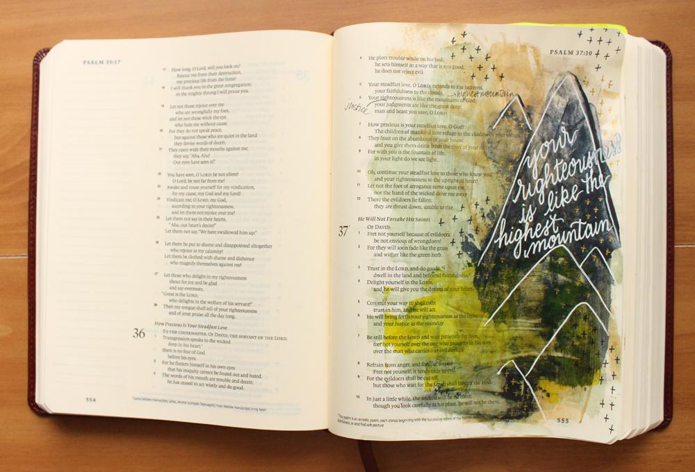 righteous mountains illustrated faith psalm 36:6