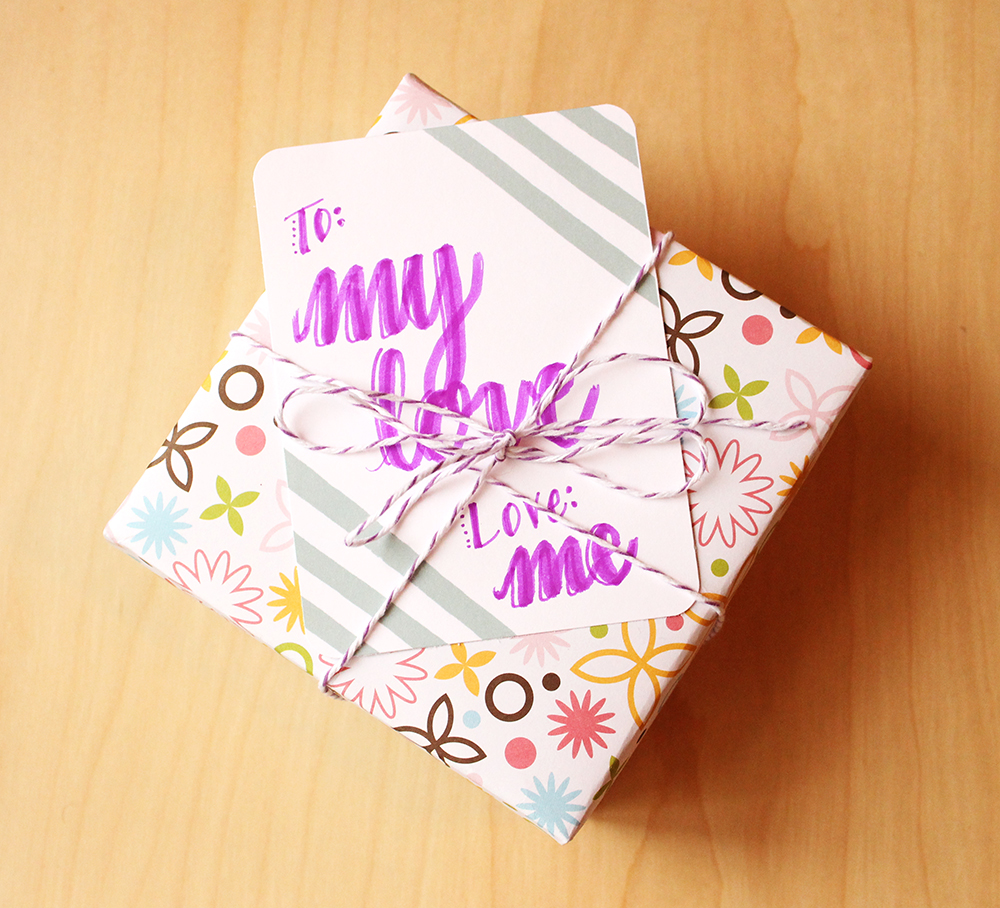 jouranling card gift tag by Daughter Zion Designs