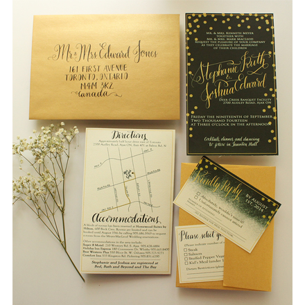 Green and Gold - A MacLeod Wedding