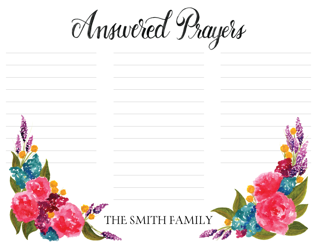 Answered Prayers - Daughter Zion Designs