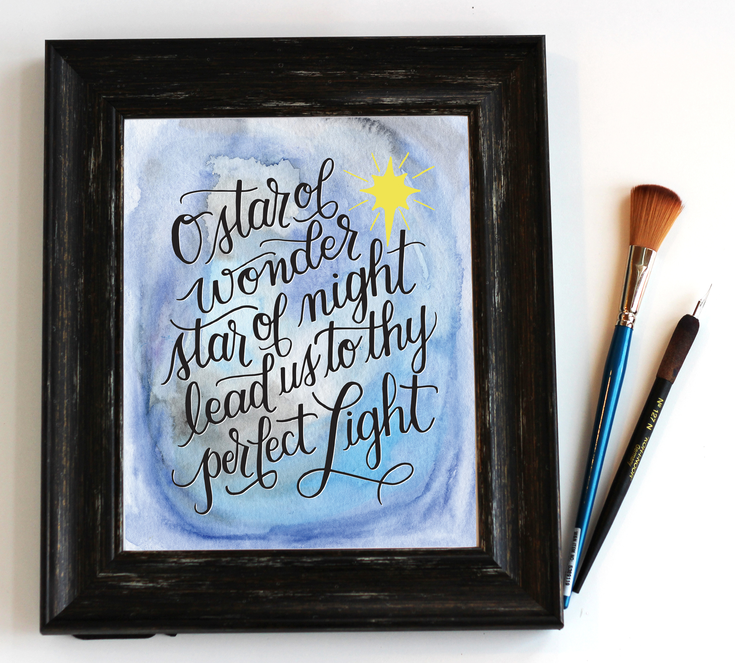 O Star of Wonder - Digital Download Print by Daughter Zion Designs